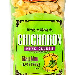 Kain-Na! Chicharon Jalapeno Flavour, 70g