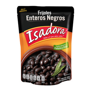 Isadora Frijoles Enteros Negros, 454g