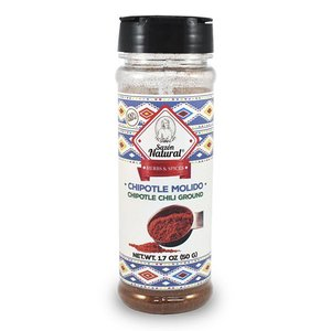 Sazon Natural Ground Chipotle Peppers, 50g