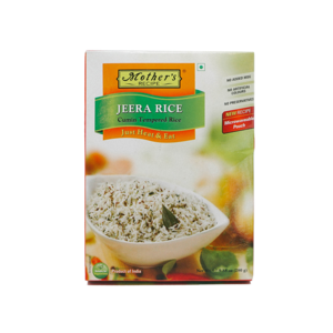 Mother's Recipe Mother's Recipe Jeera Rice, 280g