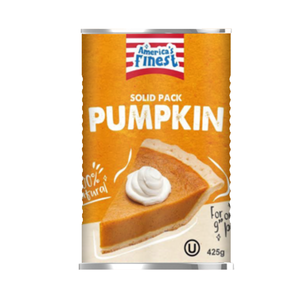America's Finest Solid Pack Pumpkin, 425g