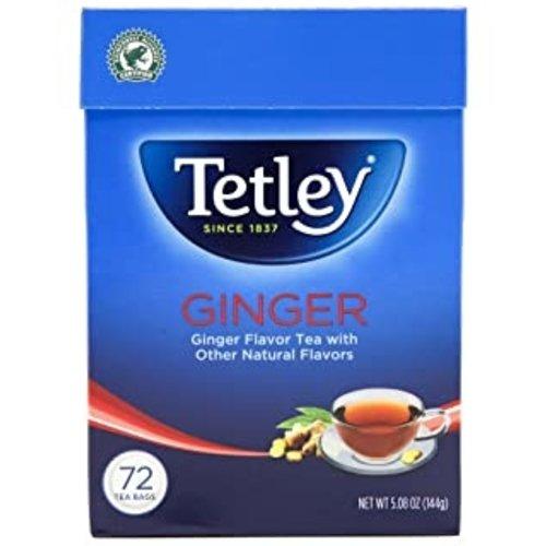 Tetley Tetley Ginger Flavor Tea, 144g