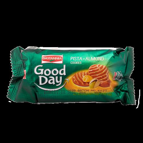 Britannia Good Day Pista Almond Cookies, 72g