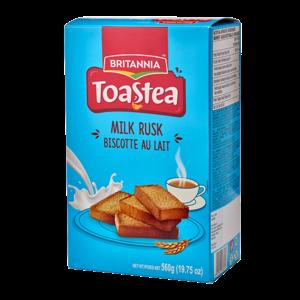 Britannia Toast tea Milk Rusk, 560g