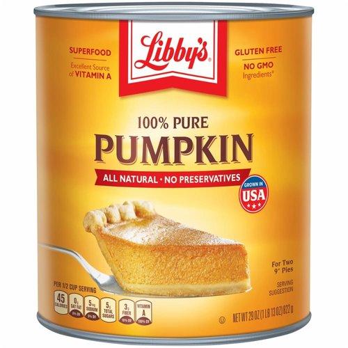 Libby's Libby's 100% Pure Pumpkin, 822g