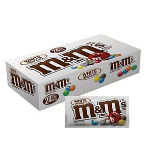 M&M M&M White Chocolate Box, 24x42g