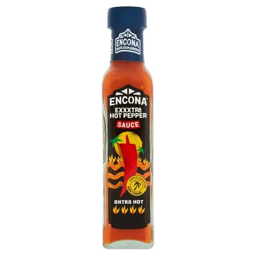Encona Extra Hot Pepper Sauce, 142ml