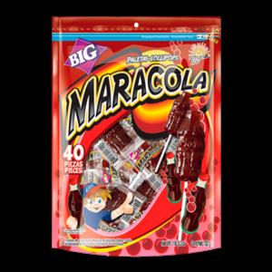 Mara Cola Lollipops, 560g THT: AUG21