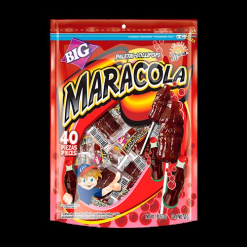 Mara Cola Lollipops, 560g