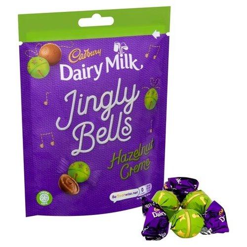 Cadbury Jingly Bells Hazelnut Creme, 82g