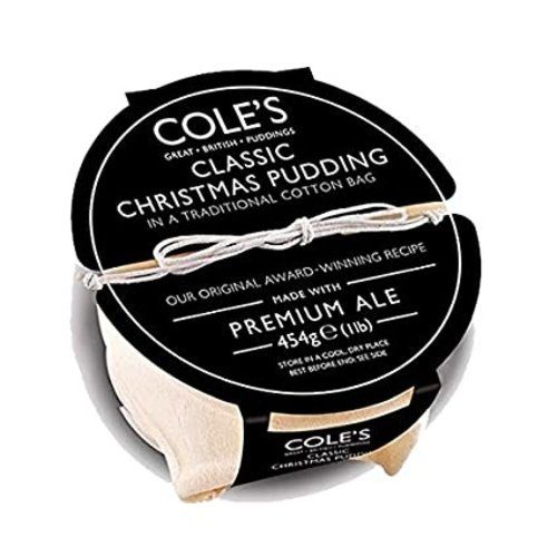Cole's Classic Christmas Pudding, 454g