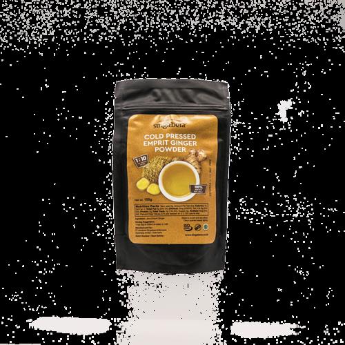 Singabera Koudgeperste Emprit Gemberpoeder, 100 g