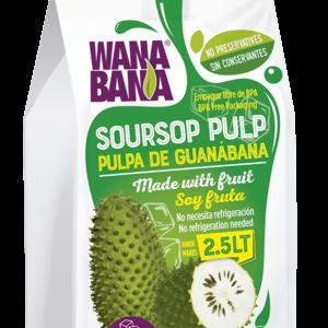 Wanabana Soursop Pulp, 500g