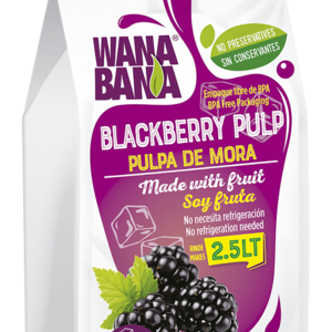Wanabana Blackberry Pulp, 500g