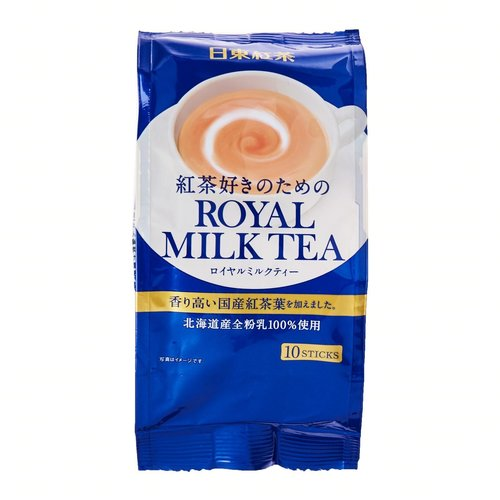 Nittoh Royal Milk Tea Instant Stick, 140g