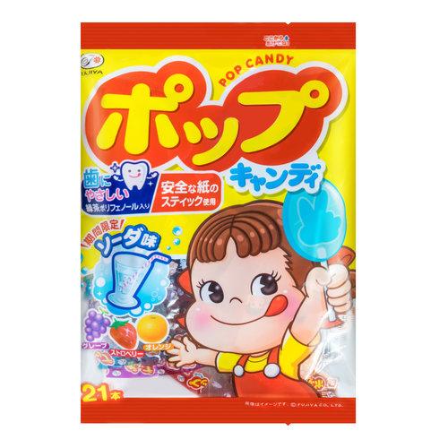Fujiya Fruit Pop Candy, 121g