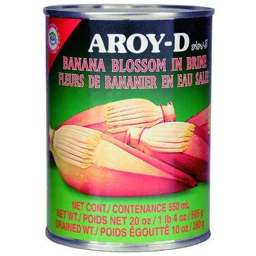 Aroy-D Banana Blossom in Brine, 565g