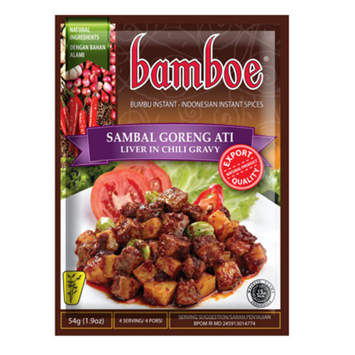 Bamboe Bumbu Sambal Goreng Ati, 54 g