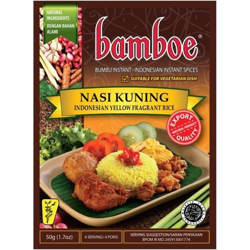 Bamboe Bumbu Nasi Kuning, 50g