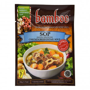 Bamboe Bumbu Sop, 49g