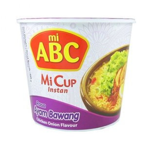 ABC Instant Mi Cup Ayam Bawang Flavour, 60g