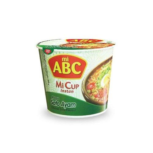 ABC Instant Mi Cup Soto Ayam Flavour, 50g