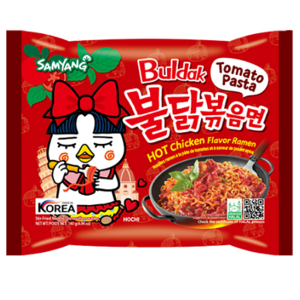 Samyang Hot Chicken Ramen Tomato Paste, 140g