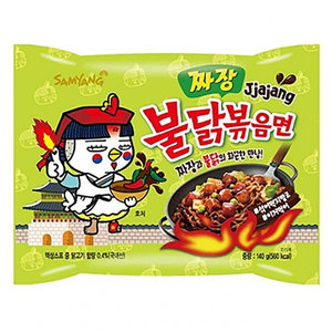 Samyang Jjajang Hot Chicken Ramen, 140g
