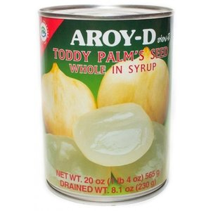 Aroy-D Toddy Palm's Seed in Syrup, 565g
