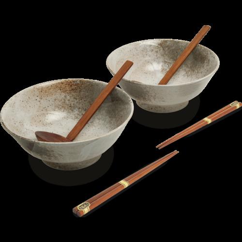EDO JAPAN Ramen Bowl Set 22cm HIKARI