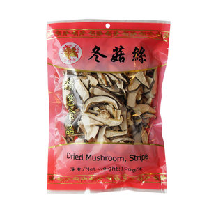 Dried Mushroom Strips, 100g