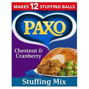 Paxo Paxo Chestnut & Cranberry Stuffing Mix, 170g