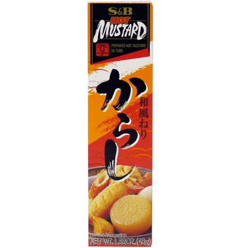 S&B S&B Hot Mustard, 43g