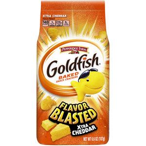 Pepperidge Farm Goldfish Crackers Xtra Cheddar, 187g