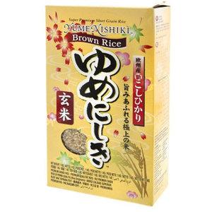Yume Nishiki Premium Japanese Brown Rice, 1kg