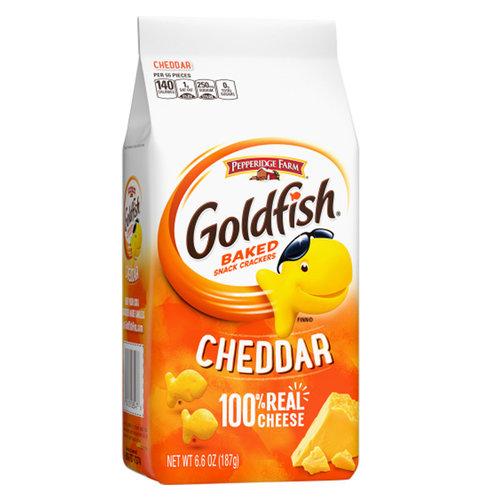 Pepperidge Farm Goldfish Crackers Cheddar, 187g