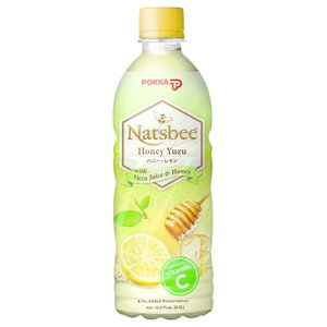 Pokka Natsbee Honey Yuzu, 500ml