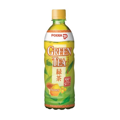 Pokka Honey Green Tea, 500ml