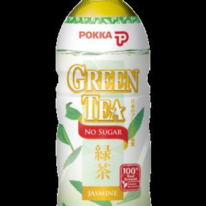 Pokka Groene jasmijn thee zonder suiker, 500 ml