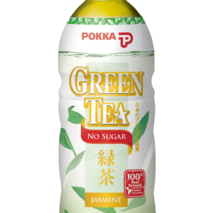 Pokka Jasmine Green Tea No Sugar, 500ml
