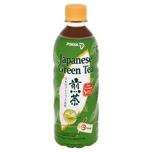 Pokka Japanese Green Tea No Sugar, 500ml