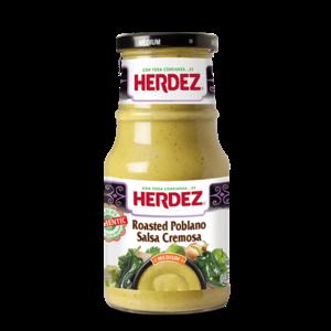 Herdez Roasted Poblano Salsa Cremosa, 434g