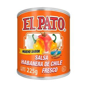 El Pato Salsa Habanera De Chile Fresco, 225g