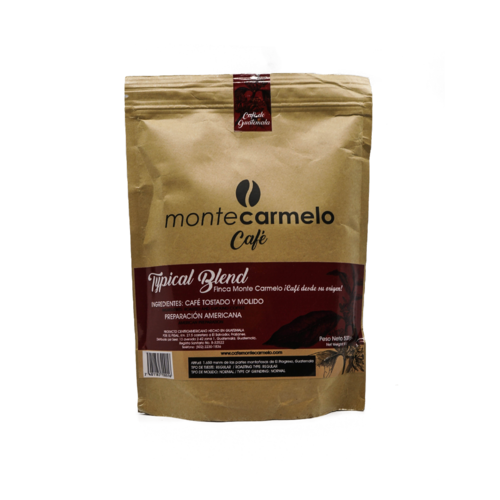 Monte Carmelo Typical Blend Grounded Coffee, 500g
