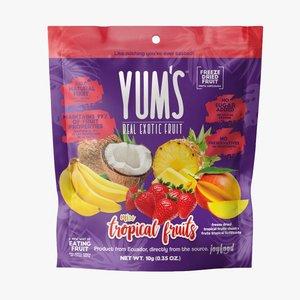 Yum's Crunchy MIX TROPICAL Bites, 10g