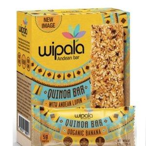 Wipala Quinoa Bar Banana, 6x35g
