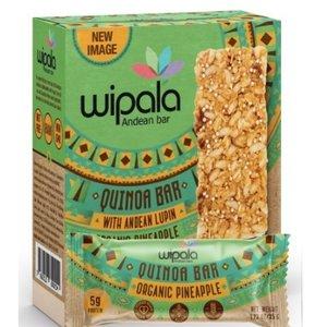 Wipala Quinoa Bar Pineapple, 6x35g