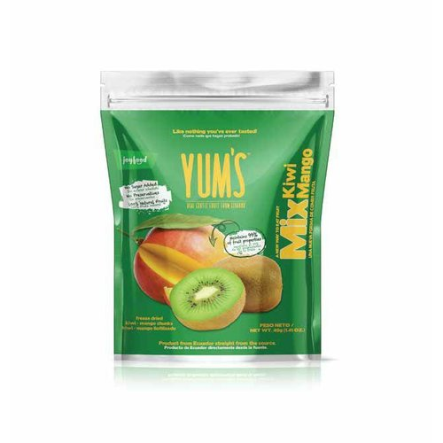 Yum's Kiwi Mango Crunchy Bites, 40g
