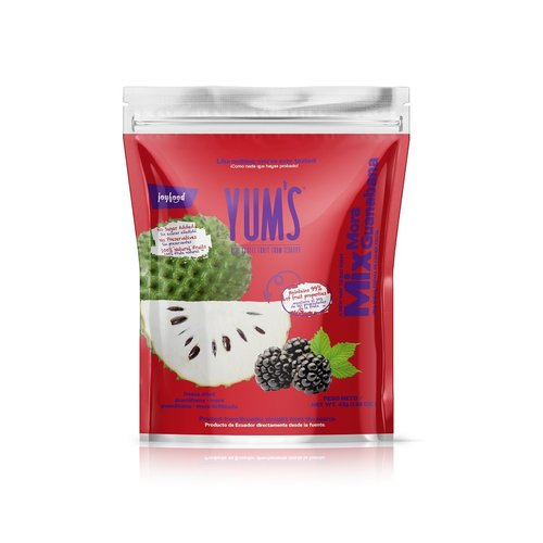 Yum's Blackberry & Soursop Crunchy Bites, 45g