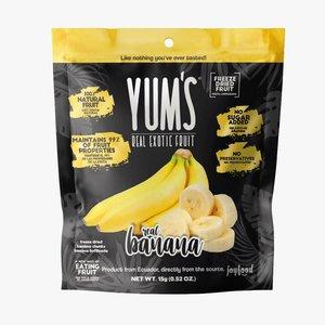 Yum's Crunchy BANANA Bites, 15g